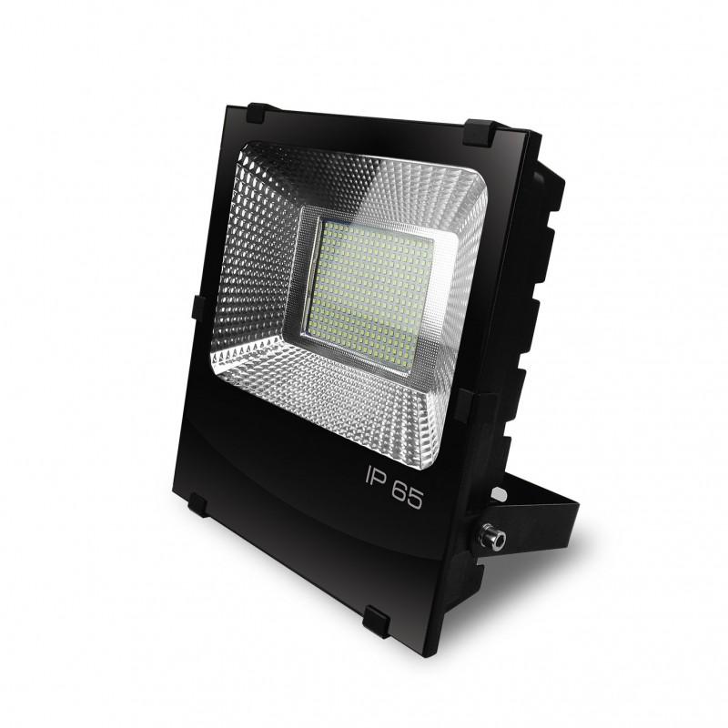 EUROELECTRIC LED SMD Прожектор чёрний с радиатором 150W 6500K