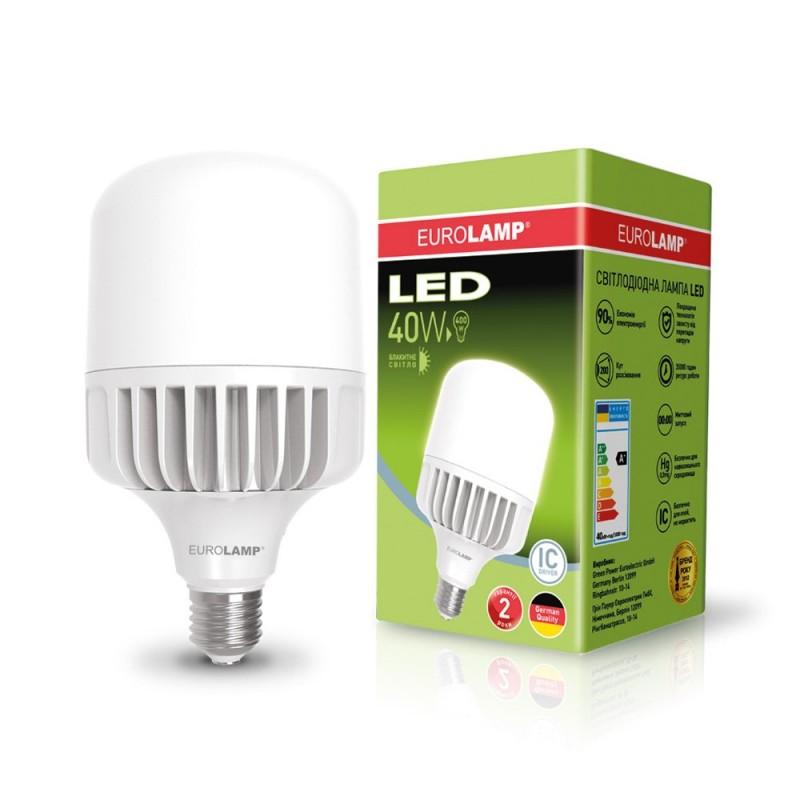 EUROLAMP LED Лампа высокомощная 40W E27 6500K