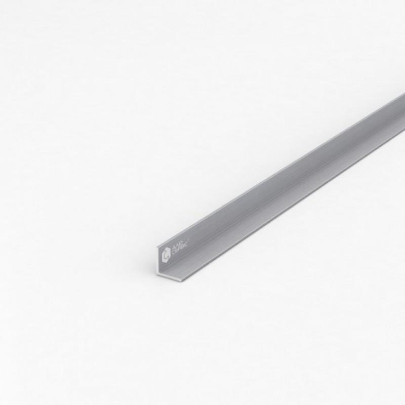 Уголок алюминиевый ПАС-1095 15Х15Х1.5 / AS серебро