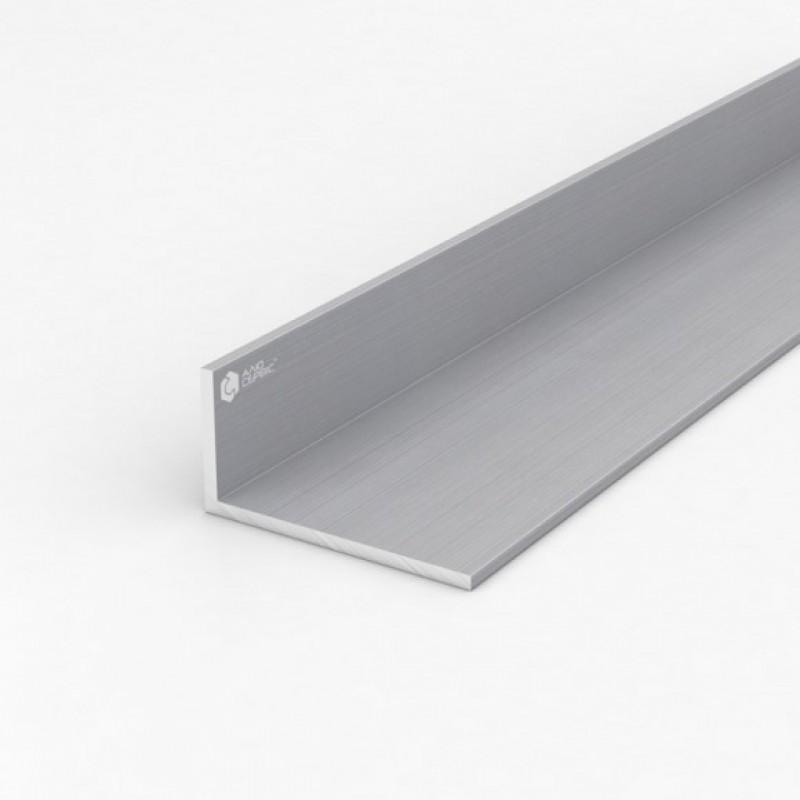 Уголок алюминиевый ПАС-1097 80Х40Х4 / без покрытия