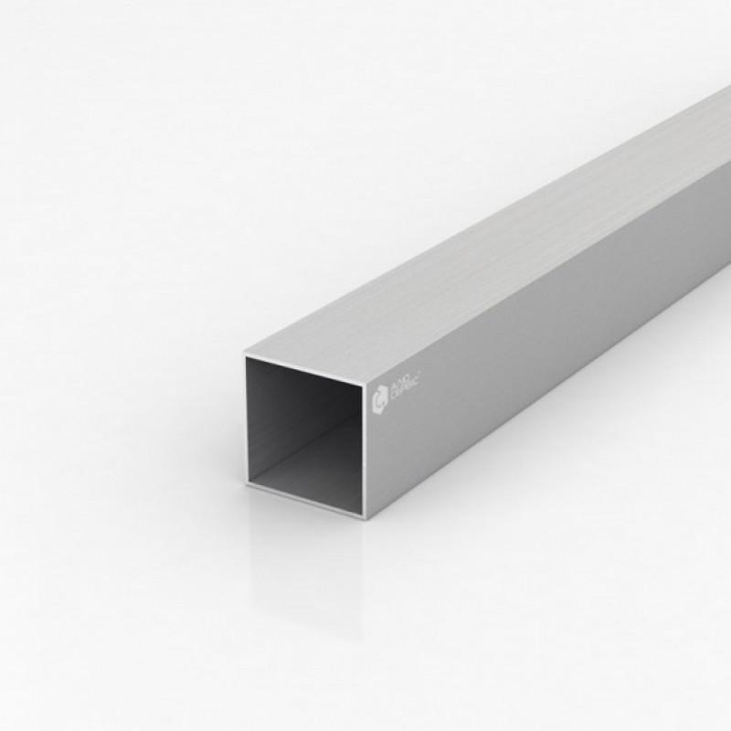 Труба квадратная алюминиевая ПАА-1092 40Х40Х1.2 / AS серебро