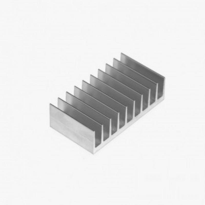 Радиатор алюминиевый охлаждения ПАС-1991 92Х26 / без покрытия